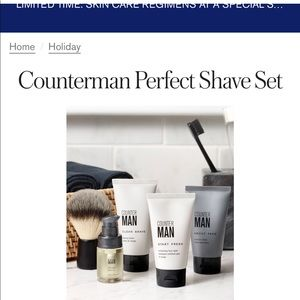 CounterMan by BeautyCounter Shave Set NWT
